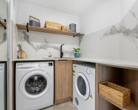 Deluxe Two Bedroom Apartment Laundry